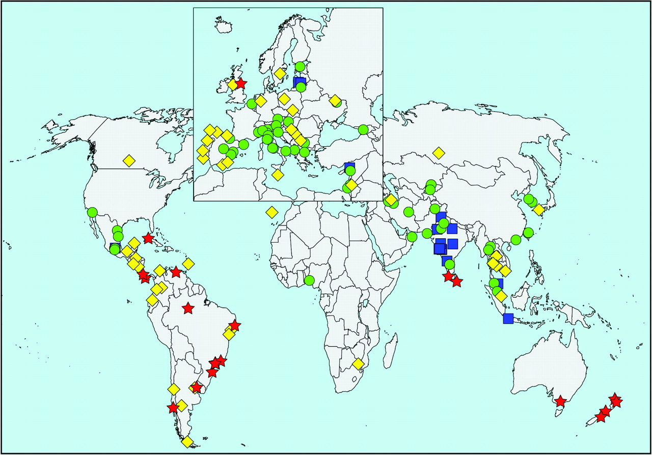 Global variation in the prevalence and severity of asthma symptoms download figure sciox Gallery