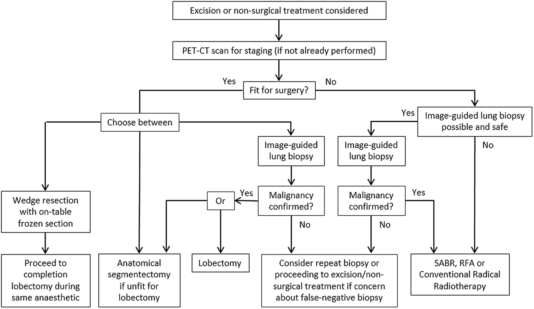 British Thoracic Society guidelines for the investigation