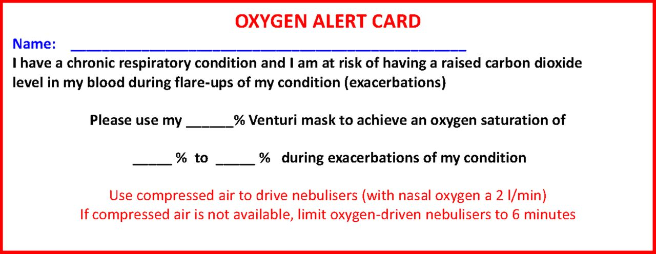 Bts Guideline For Oxygen Use In Adults In Healthcare And Emergency