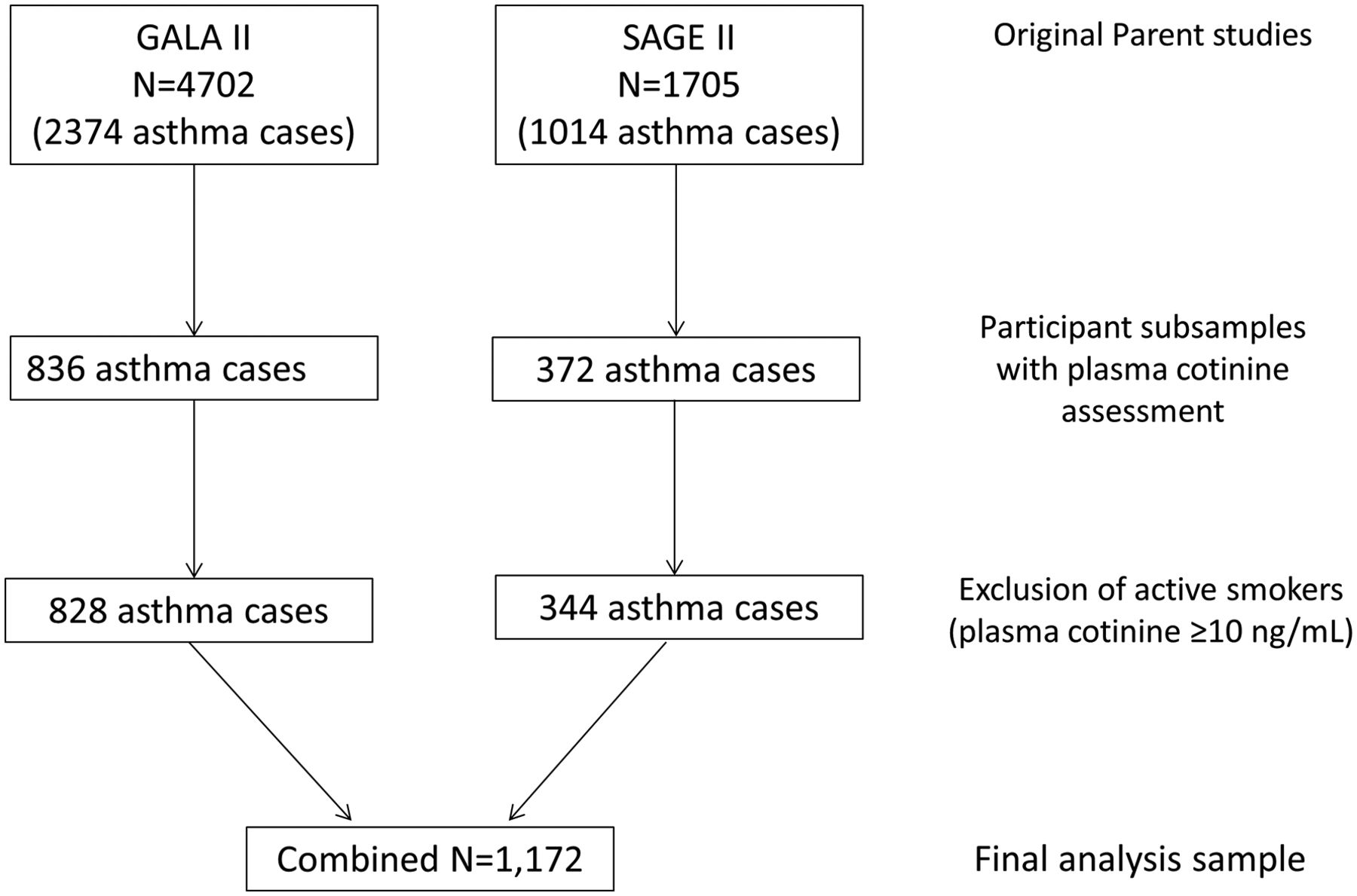Secondhand smoke exposure and asthma outcomes among African