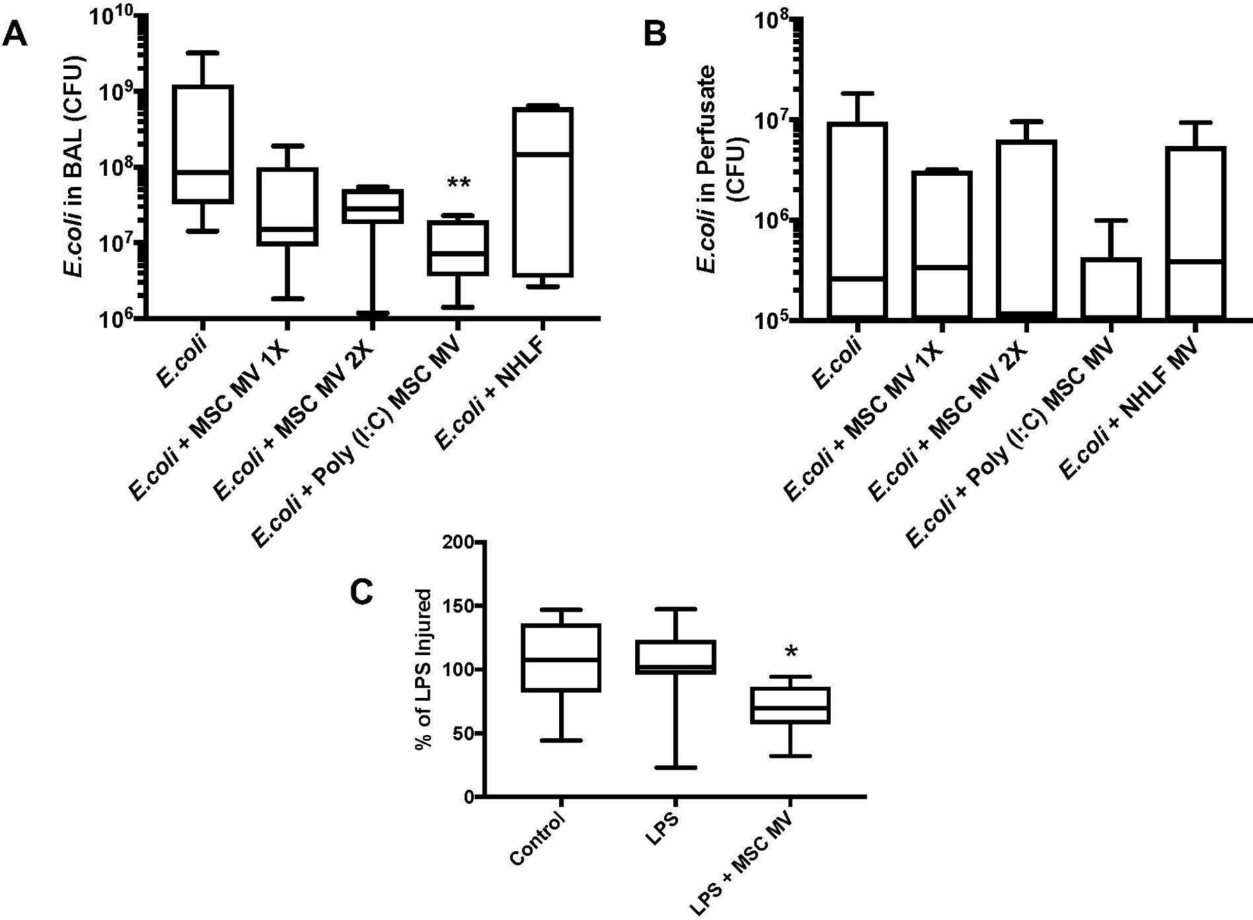 Therapeutic effects of human mesenchymal stem cell